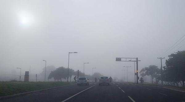 Cemtec prevê nevoeiro nas regiões sul e sudeste nesta terça-feira
