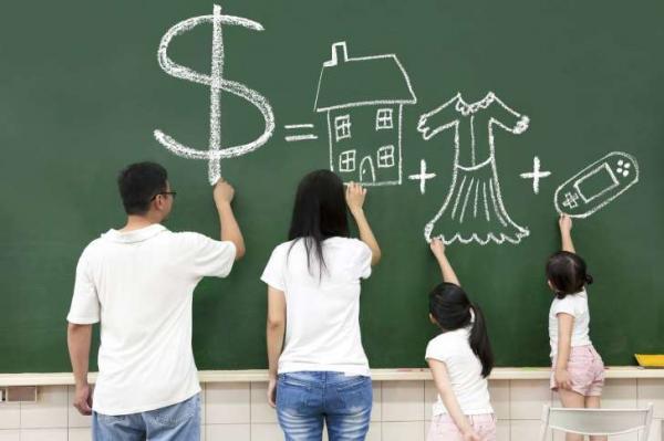 Qual salário permitiria (em tese) sustentar uma família por um mês?