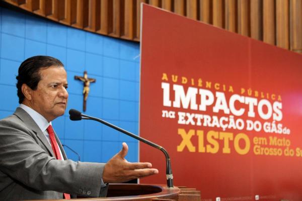 Audiência discute hoje riscos da exploração do gás de xisto em Santa Rita do Pardo