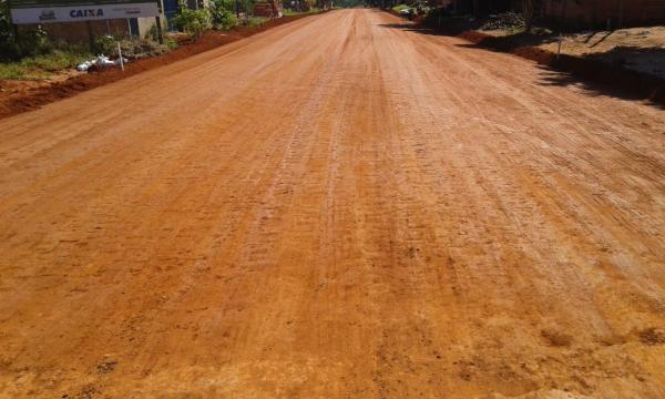 Governo do Estado garante asfalto para as ruas do Jardim dos Estados