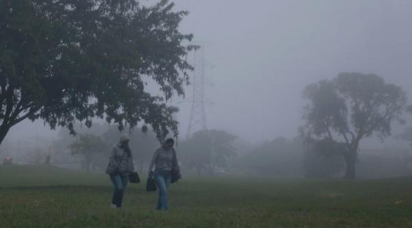 Chuva e queda de temperatura são previstas para hoje no Estado