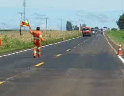 Obras da CCR MSVia provocam interferência no tráfego na BR-163/MS