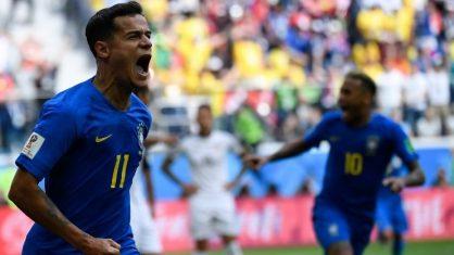 No sufoco Brasil ganha da Costa Rica