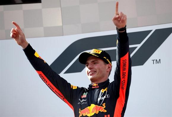 Verstappen vence GP da Áustria