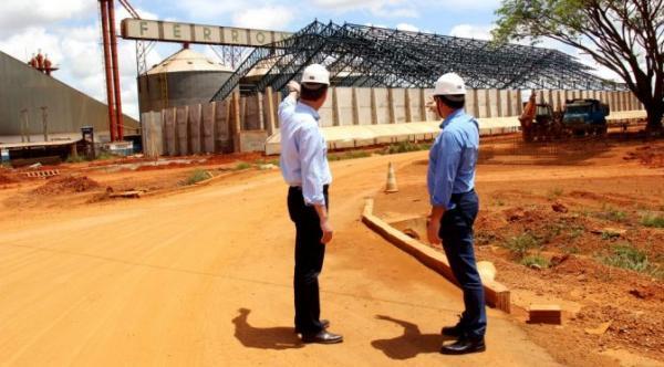 Novo terminal ferroviário melhora logística