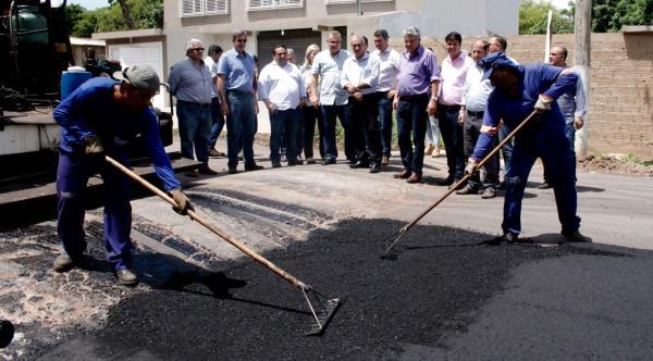 Governo do Estado investe R$ 23 milhões no recapeamento de ruas de Corumbá e Ladário