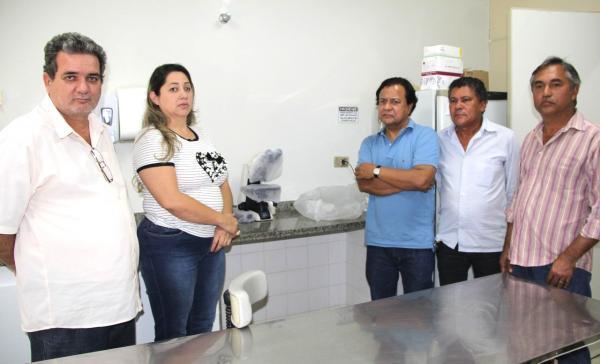 Amarildo Cruz entregou equipamentos á Unidade de Saúde de Santa Rita do Pardo