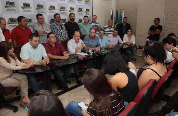 MDB reafirma candidatura de André Puccinelli  ao Governo do Mato Grosso do Sul