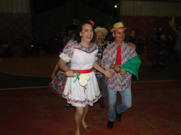 Prefeito Enelto Ramos participou de Festa Junina
