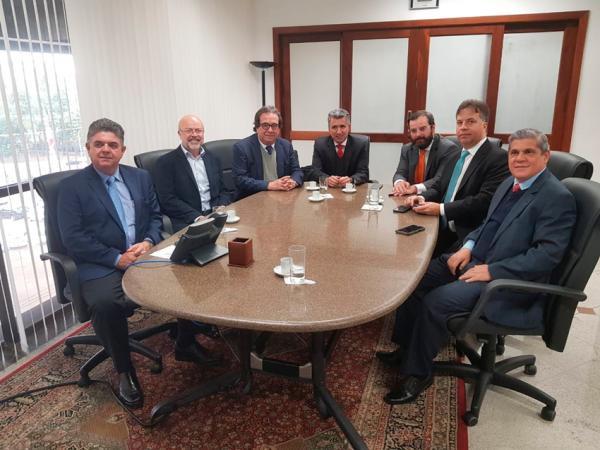 Conselheiros do TCE-MS participam de reuniões em São Paulo