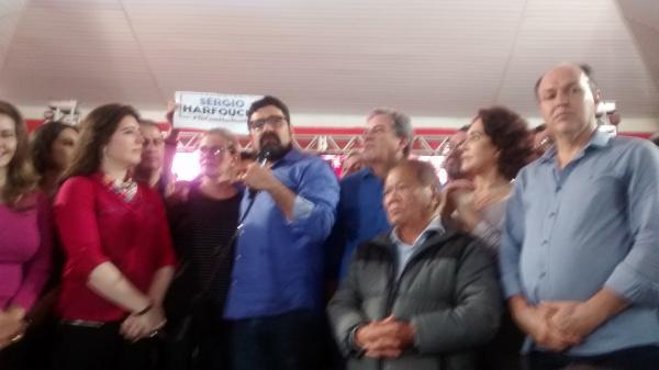 Simone é meu elo com MDB, diz candidato a vice Sérgio Harfouche