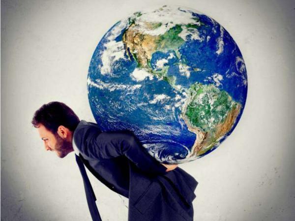 Quais são os três signos que carregam o mundo nas costas?