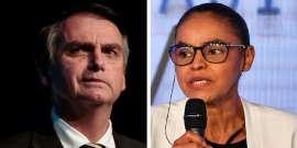 Bolsonaro e Marina têm estratégia para driblar pouco tempo na TV