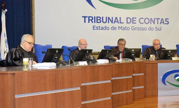 Conselheiros do TCE-MS julgaram 35 processos