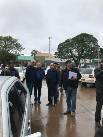 Em domingo chuvoso, Jr. Mochi reúne eleitores em Naviraí e Juti