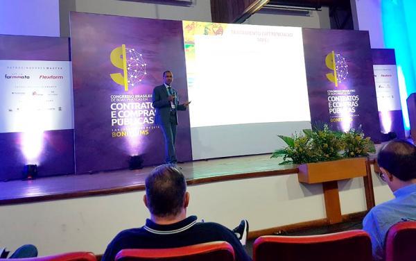 TCE-MS participa de Congresso Nacional de boas práticas em compras públicas