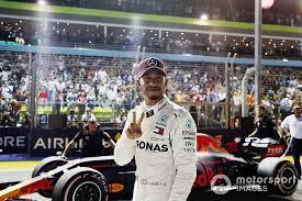 Hamilton faz corrida perfeita e vence GP de Singapura