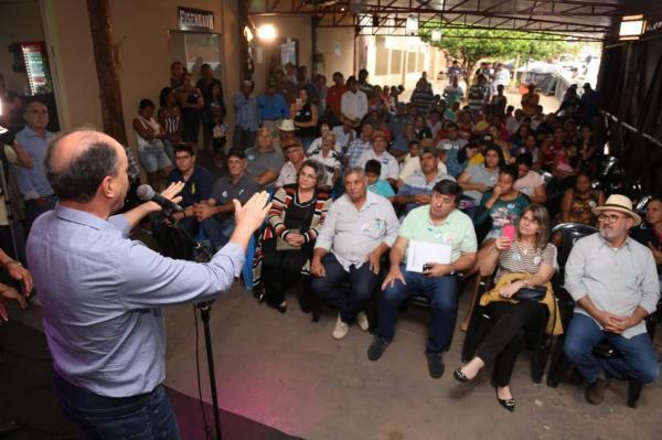 Expresso 15 realizou reunião no município