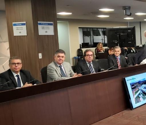 Conselheiros do TCE-MS cumpriram agenda em Brasília