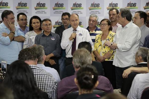 MDB terá semana decisiva para definir como vai apoiar candidatura de Odilon
