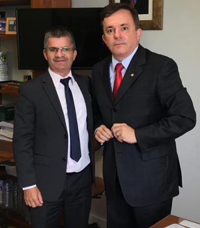 Em Brasília Enelto consegue 500 mil para o assentamento Carlos Roberto Soares