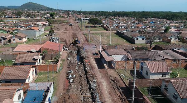 Em Corumbá, bairro sem infraestrutura se transforma com obras do Estado e Prefeitura