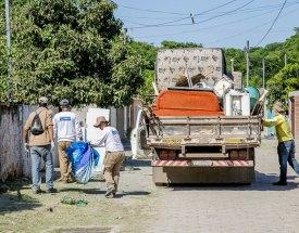 Em ação contra Aedes aegypti, Município visita mais de 6,8 mil imóveis
