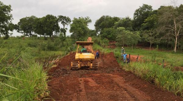 Agesul socorre Nioaque e recupera estradas danificadas pelas chuvas