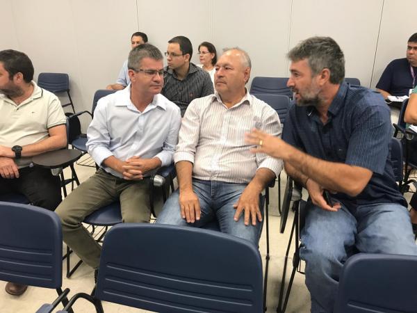 Prefeito Enelto participou de evento de Certificação em Coxim