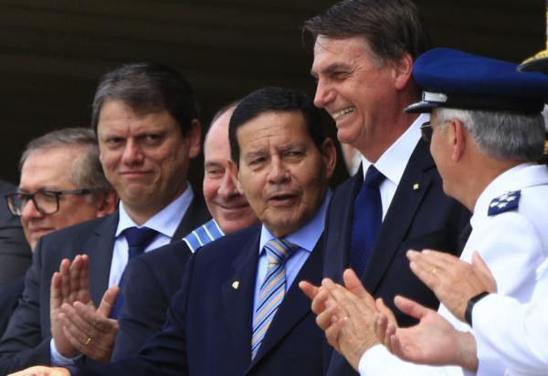 Mourão critica 'sensacionalismo' do MP quanto ao caso Flavio Bolsonaro