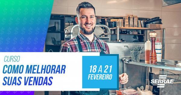 Sebrae/MS promove curso de vendas para empresas de Alcinópolis e Figueirão