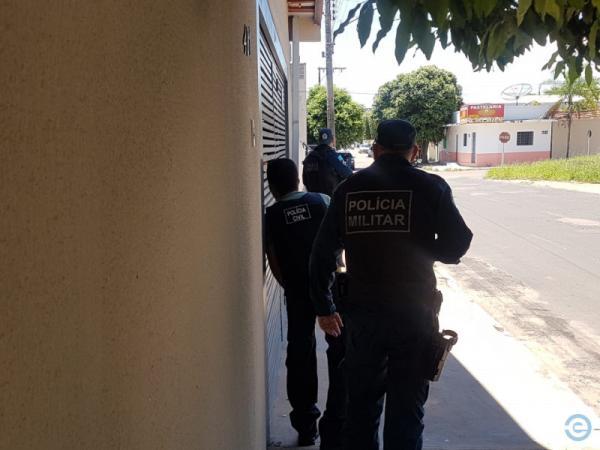 Agência dos Correios de Coxim é assaltada, gerente é feito refém