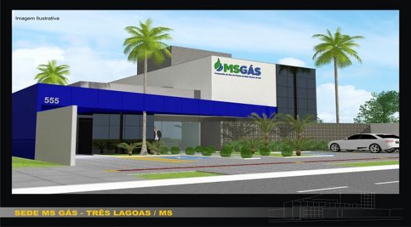 MSGÁS vai investir R$ 1,9 milhão em nova sede em Três Lagoas