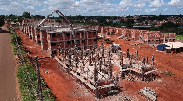 Construção de mais de mil casas na capital segue em ritmo acelerado