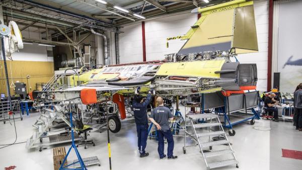 Falta pouco para o primeiro caça Gripen NG do Brasil