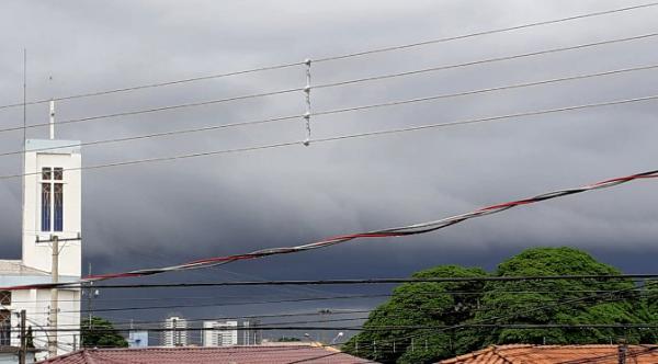 Domingo chuvoso em Mato Grosso do Sul