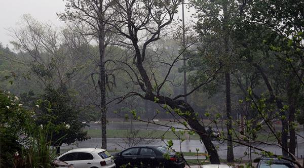 Tempo segue instável com possibilidade de chuva forte em algumas áreas de MS