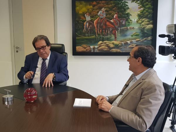 Em entrevista, Presidente do TCE-MS fala sobre Novo Conceito de Gestão