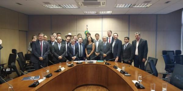 Prefeito Enelto Ramos cumpriu agenda em Brasília
