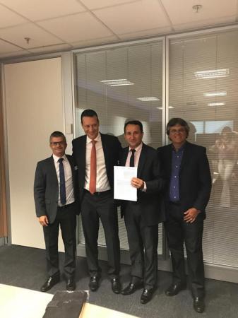 Enelto assinou contrato de liberação de R$ 5 milhões em obras