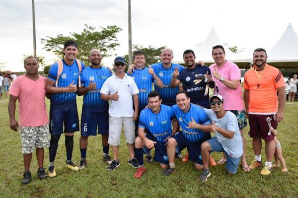 Equipe Lagoa 1 foi a campeã no primeiro Agita Sonora