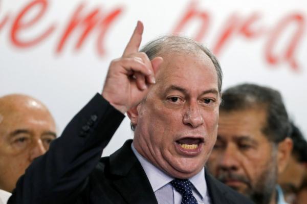 Ciro diz que ameaça a 'hegemonia apodrecida' do PT