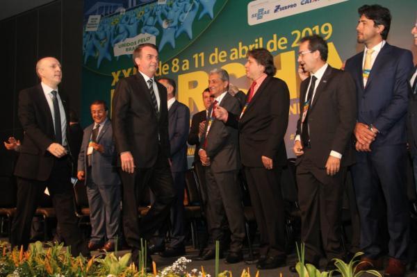 Caravina diz que fala de Bolsonaro foi aquém da expectativa dos prefeitos