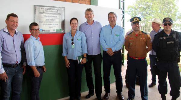 Governo entregou em Sonora a primeira de dez Centrais de Comercialização para Agricultura Familiar em MS