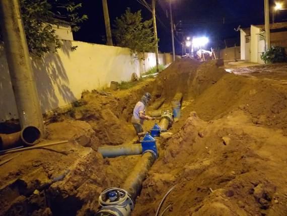 Sanesul realiza obras para melhorar sistema de abastecimento de água em Três Lagoas