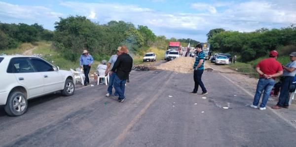 Bioceânica, em Puerto Suárez, está bloqueada por 24h