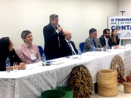 TCE-MS capacitou gestores públicos em encontro em Coxim