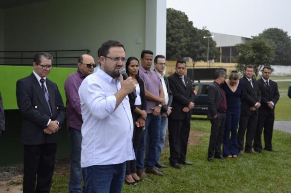 Deputado Márcio Fernandes anuncia investimentos em Castra Móvel