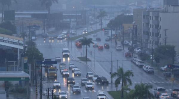 Defesa Civil alerta para risco de chuvas intensas em 47 municípios