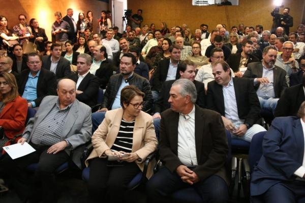 Reinaldo Azambuja destaca expansão da agropecuária em MS